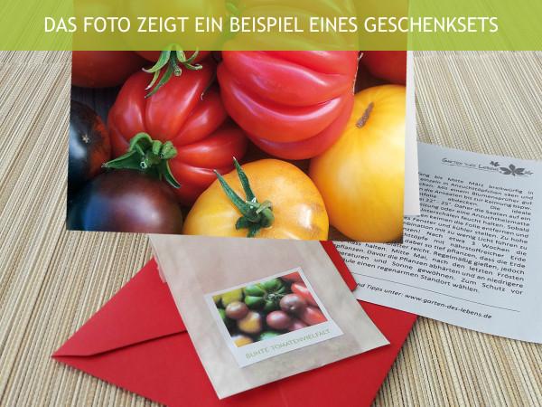 Bunte Tomaten Mix, Geschenkset