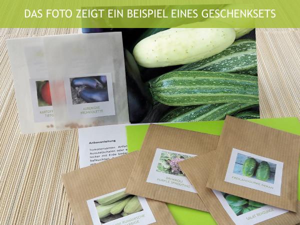 Alte Gemüsesorten, Geschenkset