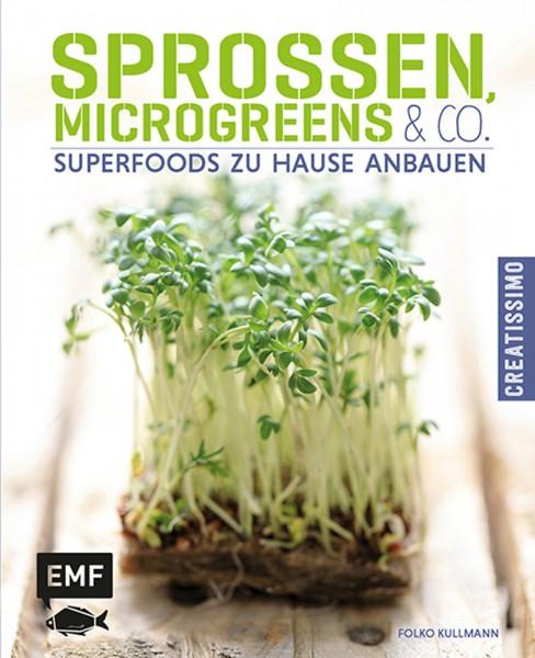 Buch Sprossen, Microgreens und Co.