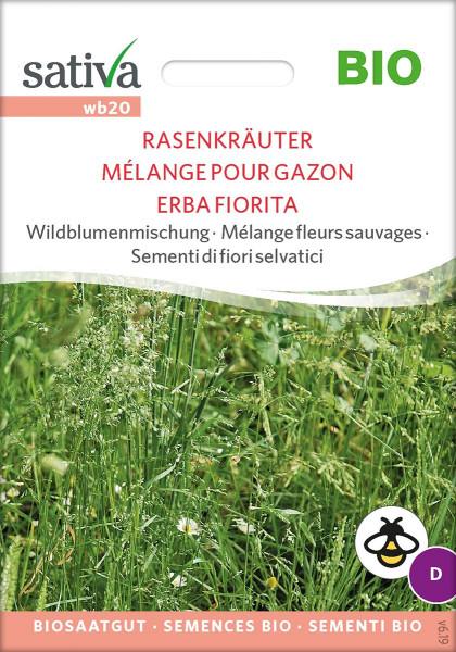 Wildblumenmischung RASENKRÄUTER