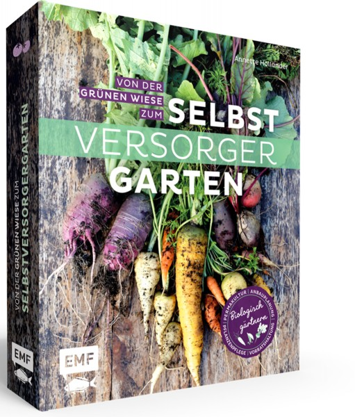 Buchcover: Von der grünen Wiese zum Selbstversorgergarten